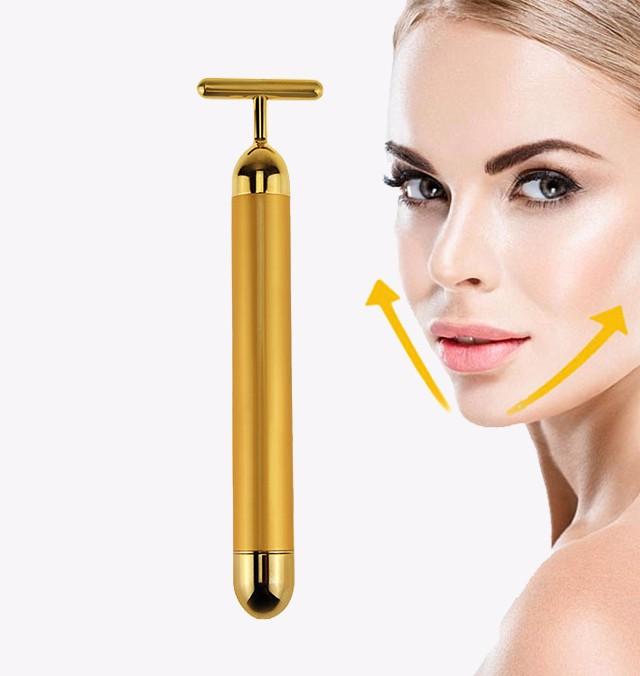 Skin rejuvenation effect of ultrasonic beauty instrument